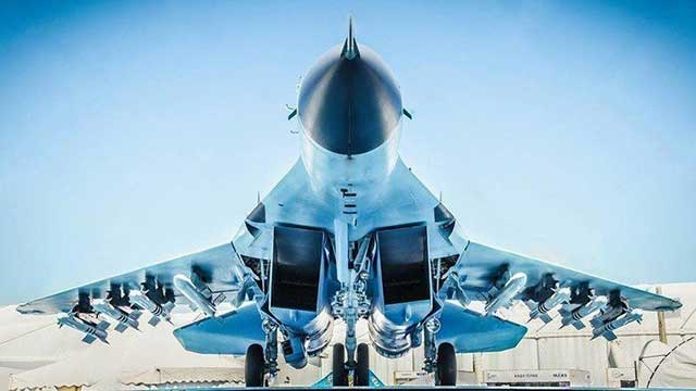 Fully equipped mig-35