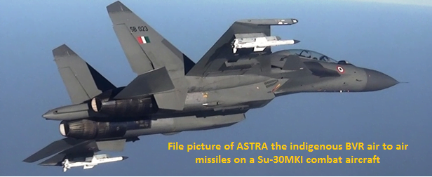 India Astra Missile