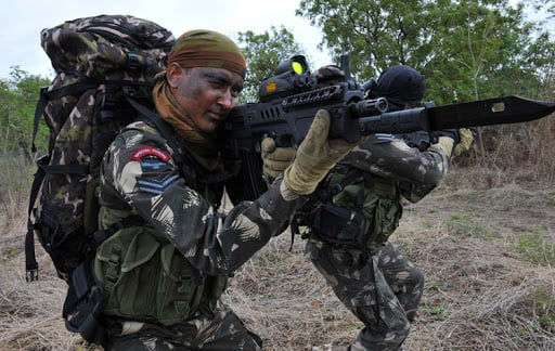 IAF Garus Commandos with CTAR-21 assault rifle