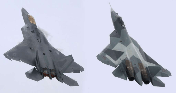 us vs rusia jet
