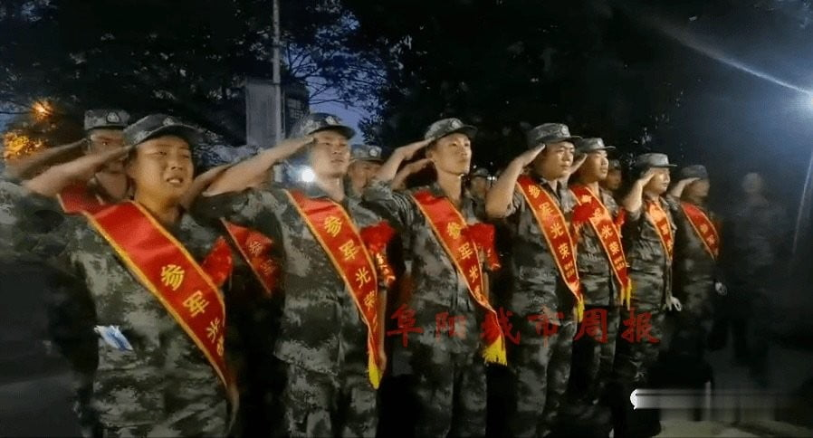 Chinese army crying