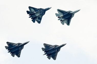 su-57 fighter aircraft