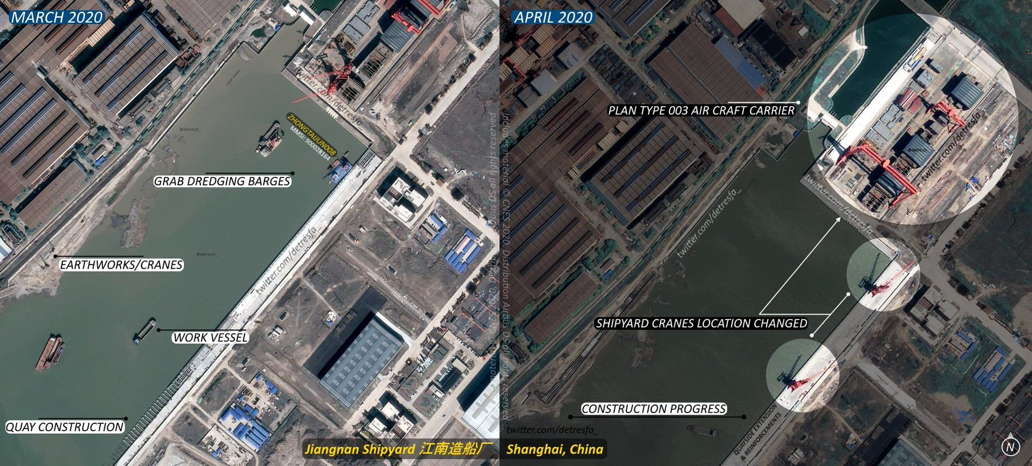 chinese 003 aircraft carrier
