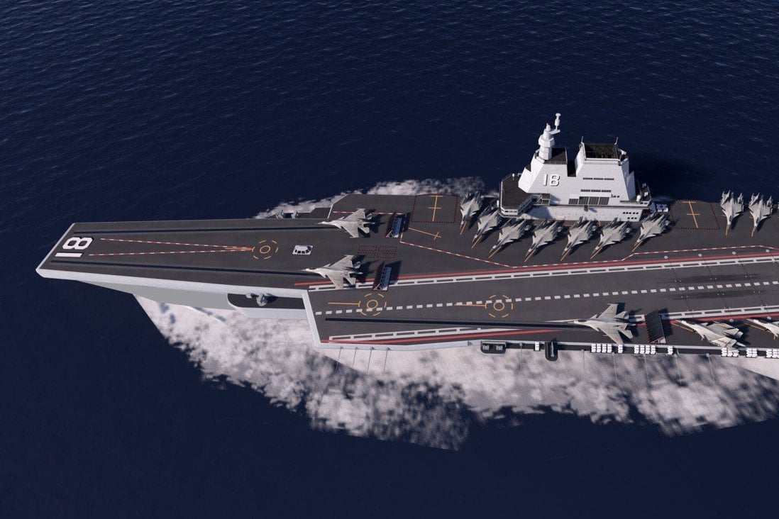 type 002 aircraft carrier
