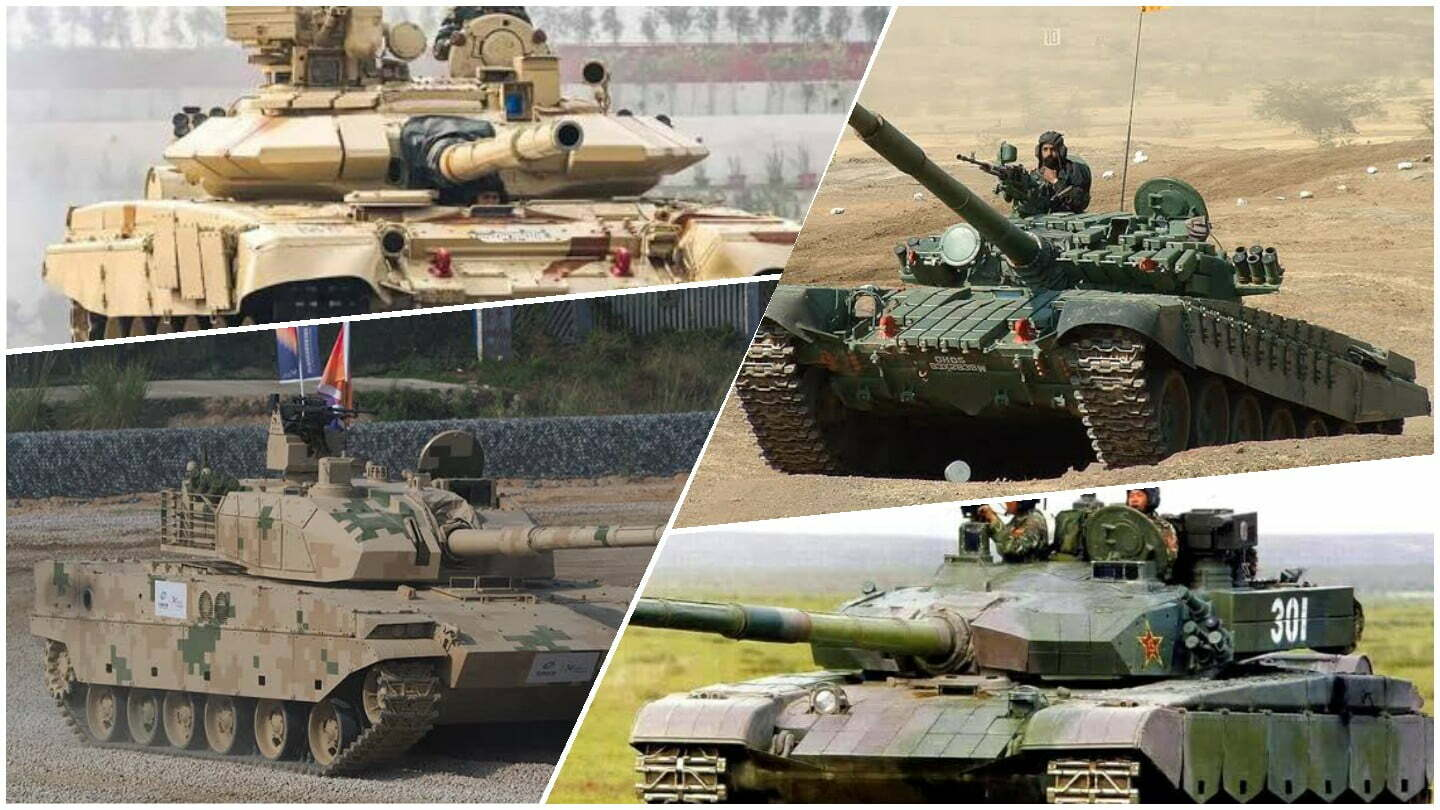 indian tank vs chinese tank