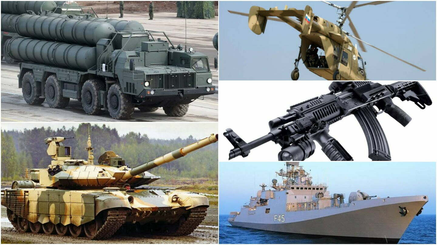 russian weapons india