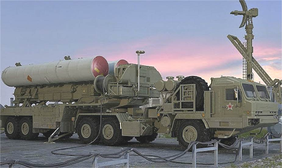 S-500 missile system