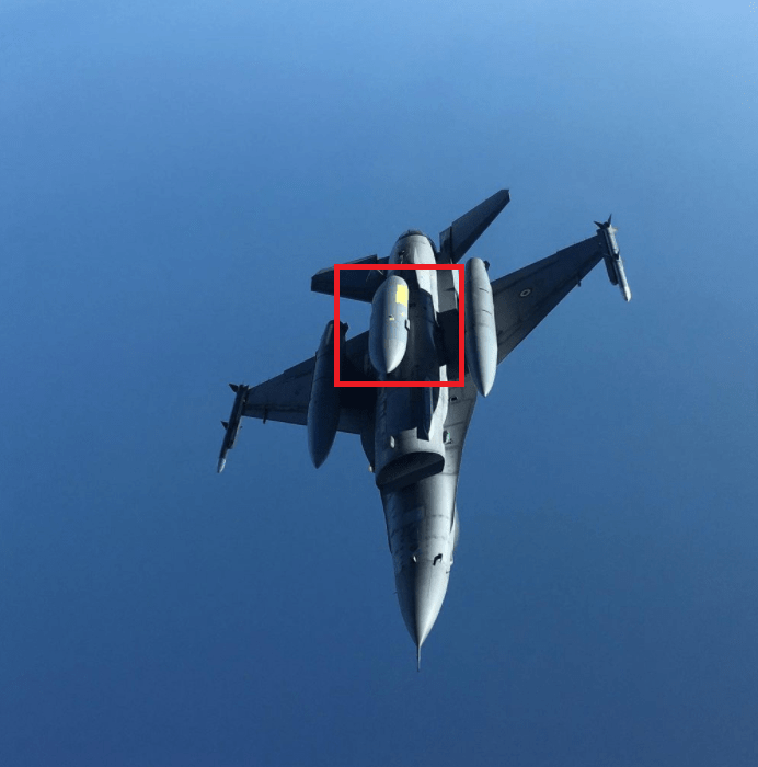 Turkish Air Force F-16s carry electronic warfare systems EHPOD