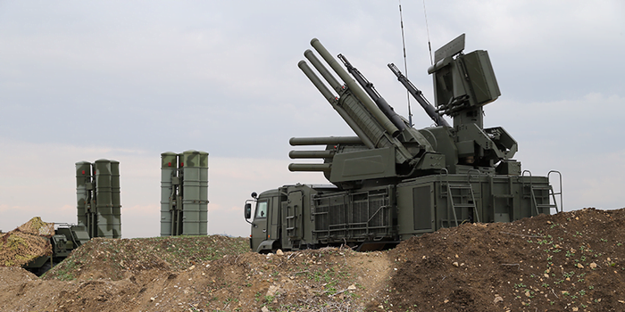 russian air defence system