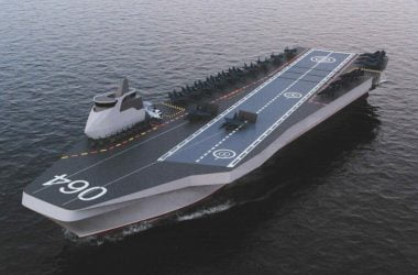 Russian aircraft carrier Varan