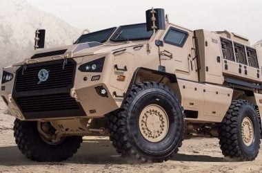 Kalyani M4 armoured vehicle