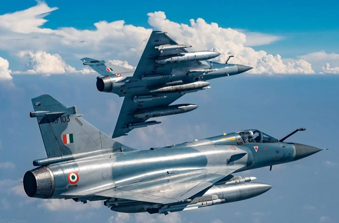 Indian airforce mirage 2000