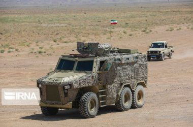 iran armor vehicle