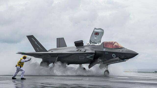royal navy F-35B
