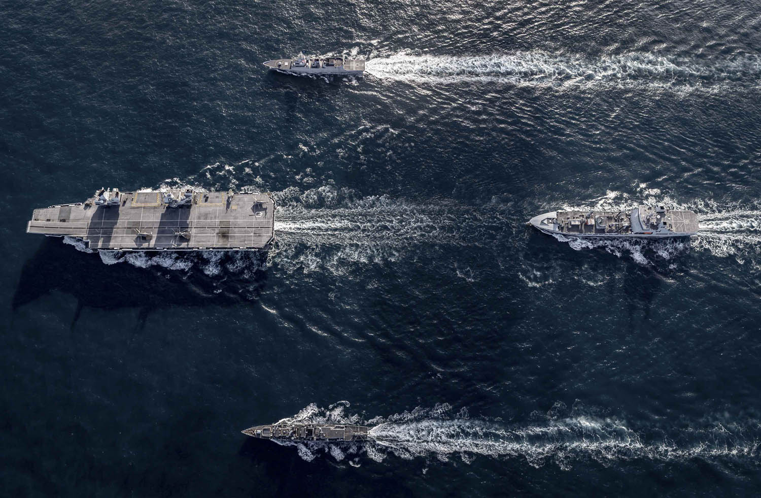 British aircraft carrier strike group