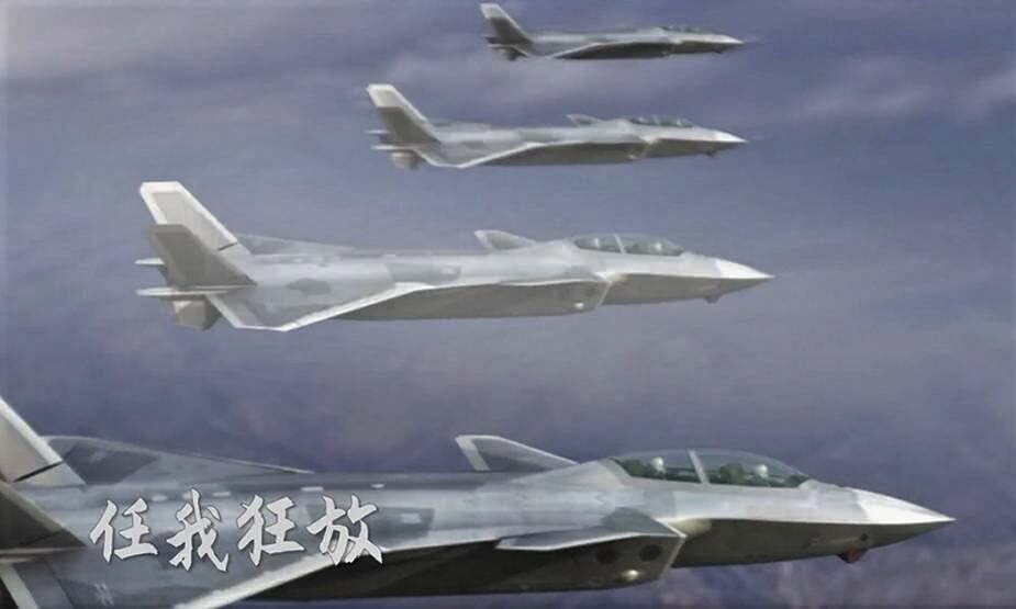 Chinese J-20 twin-seat variant