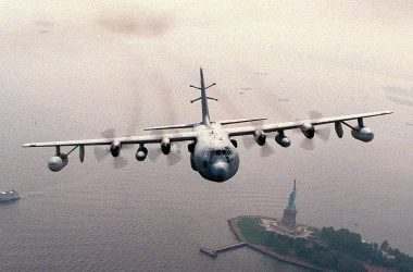 EC-130 Psychological Warfare Aircraft