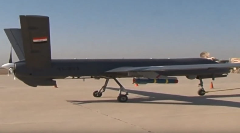 Chinese CH-4 drone operate by Iran