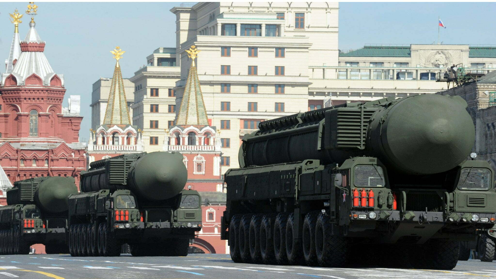 Russian victory day parade 2021