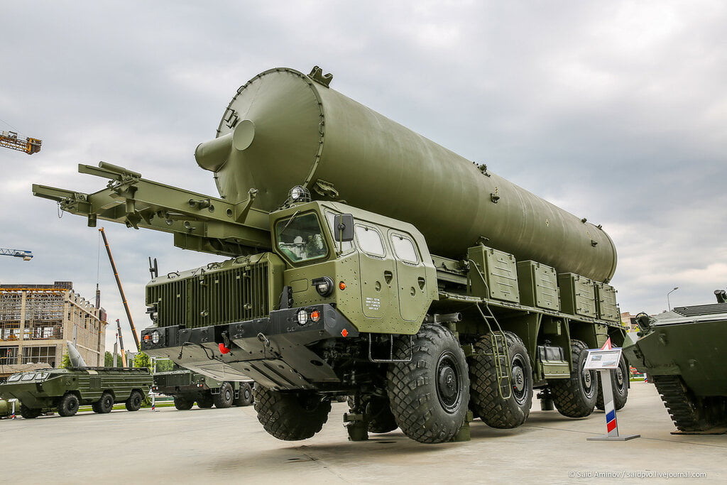 Nudol and S-500 missile systems
