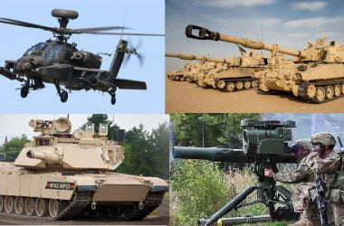 us army top weapon