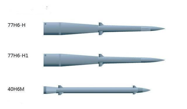 S-500 missiles