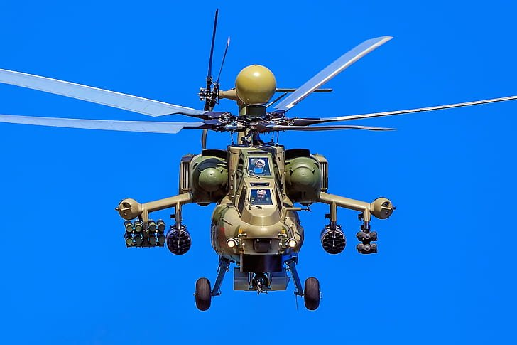 Mi-28 attack helicopter