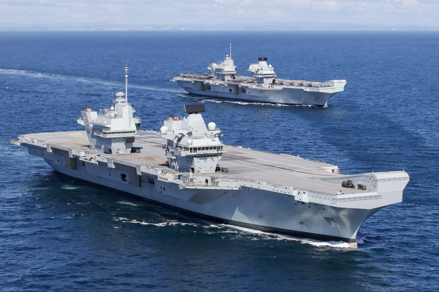british aircraft carrier group