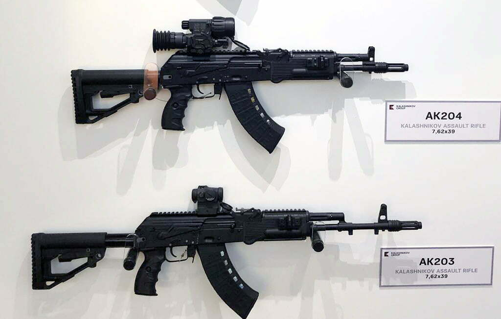 Ak-203 for indian army