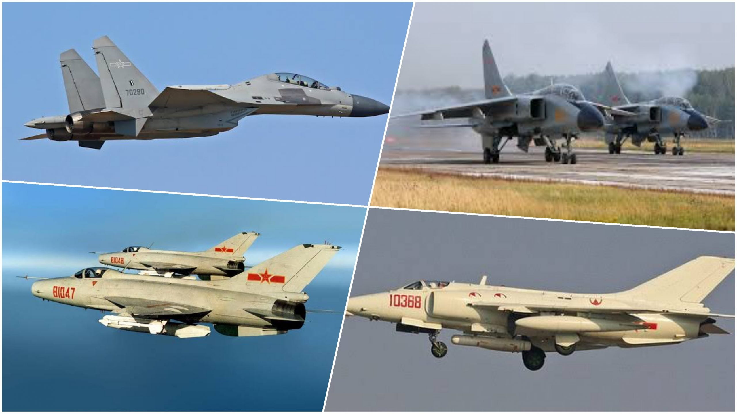 Chinese air force power