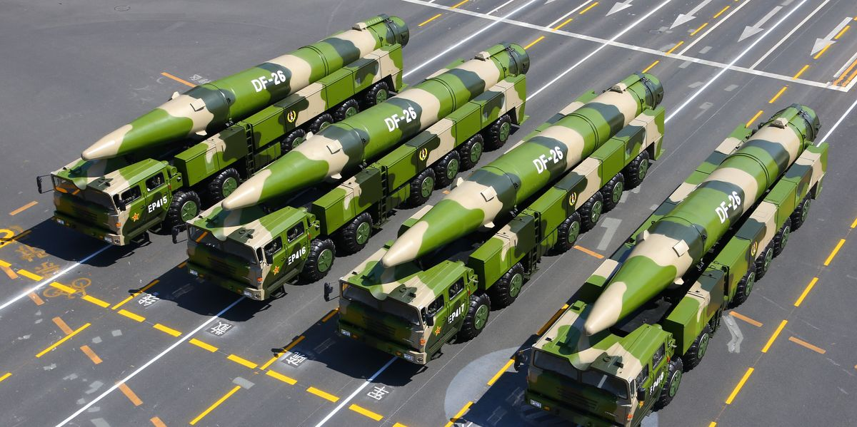chinese missile against US