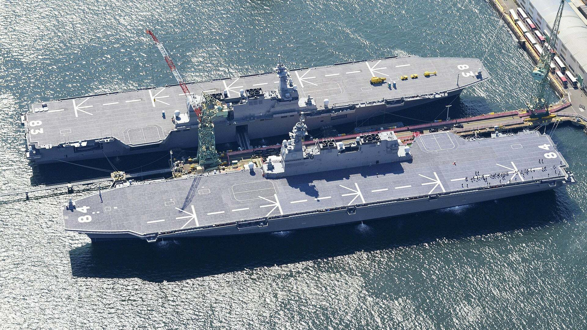 Izumo-class helicopter destroyers