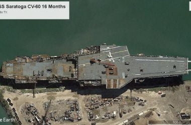retired aircraft carrier